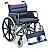 Αμαξίδιο αναπηρικό βαρέως τύπου, πτυσσόμενο. Μεταλλικού σκελετού, με διπλά ενισχυμένα ψαλίδια και φαρδύ κάθισμα 55 cm. Ιδανικό για υπέρβαρους ασθενείς έως 125 Kg.