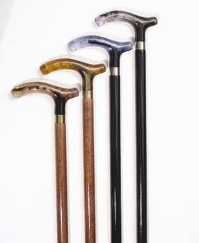 Μπαστούνι Οξυάς με Λαβή ( Τ ) | Ιατρικά Ορθοπεδικά Είδη