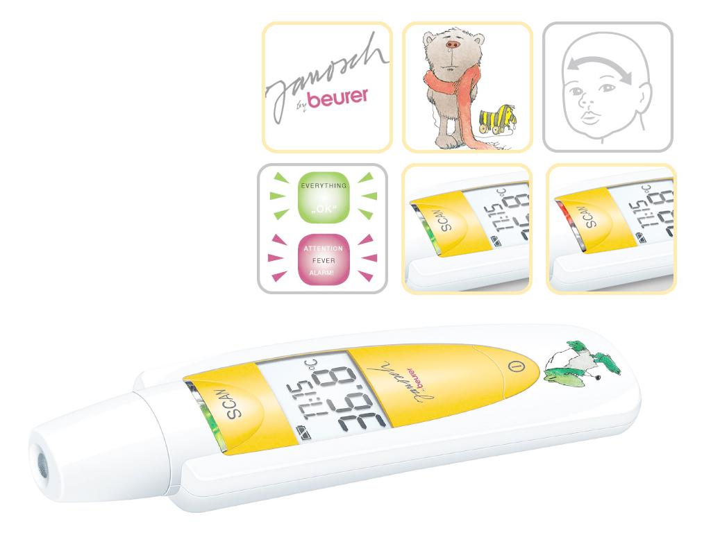 Beurer JFT60- Θερμόμετρο Μετώπου 3 σε 1  | Ιατρικά Ορθοπεδικά Είδη