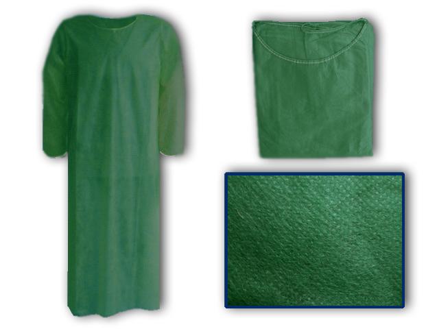 de4b6e7118c2 μπλούζες εξεταστικές non-woven πράσινες σκούρες
