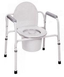 Κάθισμα Τουαλέτας - Μπάνιου με Δοχείο | Ιατρικά Ορθοπεδικά Είδη