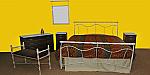 Μεταλλικό Kρεβάτι K504 | Ιατρικά Ορθοπεδικά Είδη